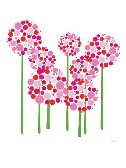 Pink Allium-Avalisa-Art Print