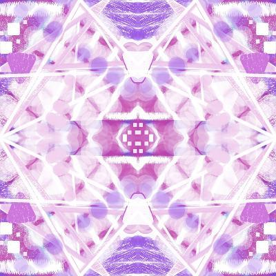 Pink and Purple Abstract-Deanna Tolliver-Giclee Print