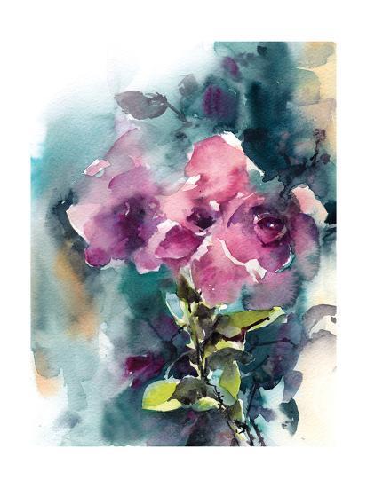 Pink and Purple-Sophia Rodionov-Art Print