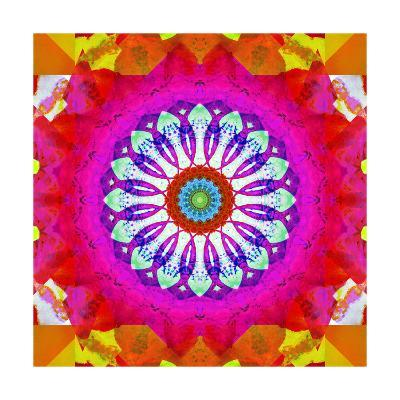 Pink And Red With Me-Alaya Gadeh-Art Print