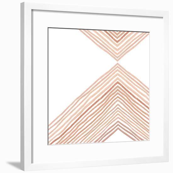 Pink Apogee II-Emma Scarvey-Framed Art Print