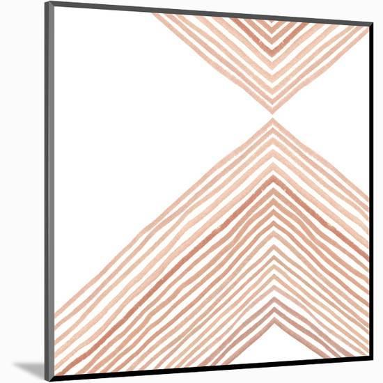 Pink Apogee II-Emma Scarvey-Mounted Art Print