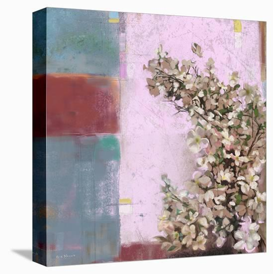 Pink Blossoms 01-Rick Novak-Stretched Canvas Print
