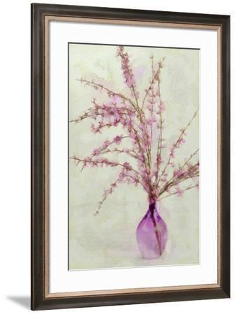 Pink Broom in Glass-Cora Niele-Framed Giclee Print