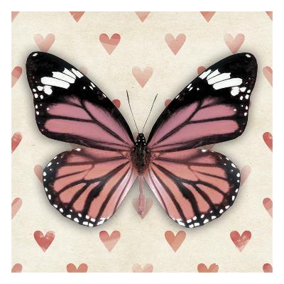 Pink Butterfly--Art Print