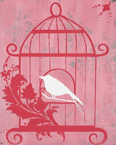 Pink Cage I-Hakimipour-ritter-Art Print