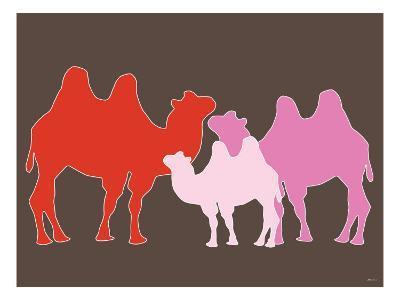 Pink Camel-Avalisa-Art Print