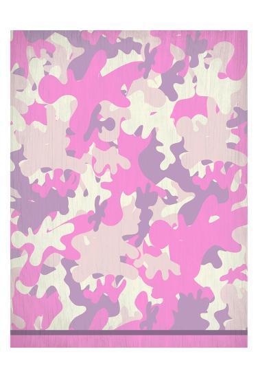 Pink Camo-Kimberly Allen-Art Print