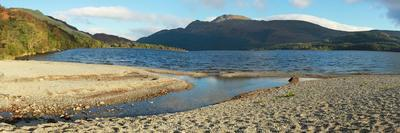 Panorama of the Loch Lomond during the Morning in Scotland, UK