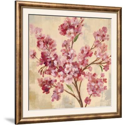 Pink Cherry Branch I--Framed Photographic Print