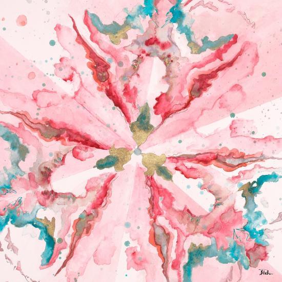 Pink Constellation Square-Patricia Pinto-Art Print
