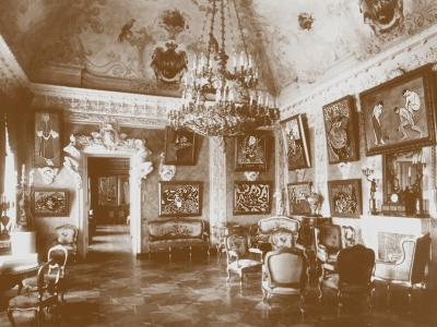 Pink Dining Room, known as the Matisse Room, 1913--Photographic Print