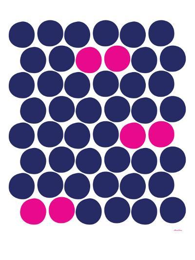 Pink Dots-Avalisa-Art Print