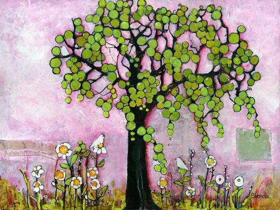 Pink Dreams Print-Blenda Tyvoll-Art Print