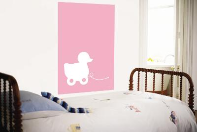 Pink Ducky-Avalisa-Wall Mural