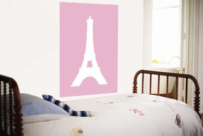 Pink Eiffel Tower-Avalisa-Wall Mural