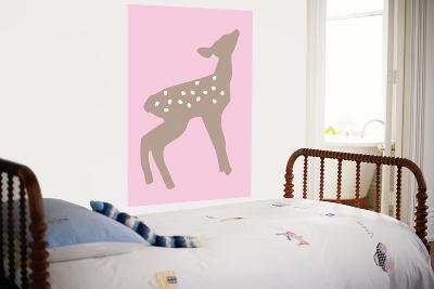 Pink Fawn-Avalisa-Giant Art Print