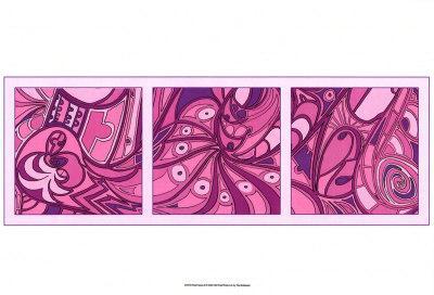 Pink Fission II-Tina Kafantaris-Art Print