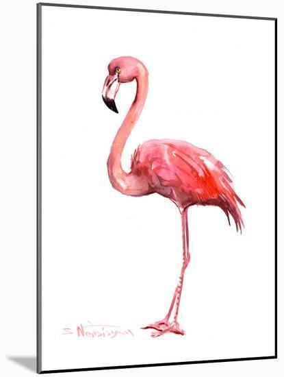 Pink Flamingo-Suren Nersisyan-Mounted Print