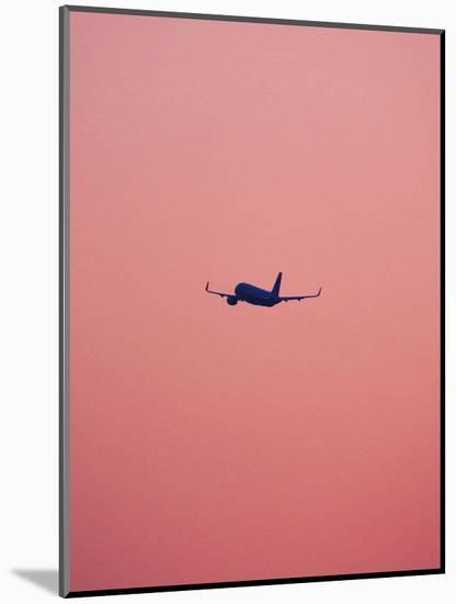Pink Flight-Design Fabrikken-Mounted Photographic Print