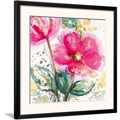 Pink Flower I-Lilian Scott-Framed Art Print