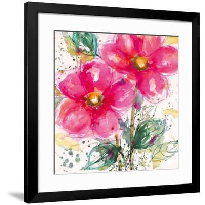 Pink Flower II-Lilian Scott-Framed Art Print