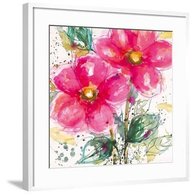 Pink Flower II-Lilian Scott-Framed Art Print
