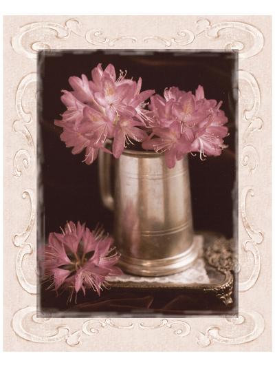 Pink Flowers Fresh Cuts I-Richard Sutton-Art Print
