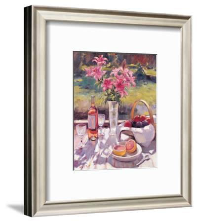 Pink Flowers-Edward Noott-Framed Art Print
