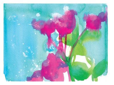 Pink Flowers-Paula Mills-Art Print
