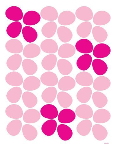 Pink Flowers-Avalisa-Art Print