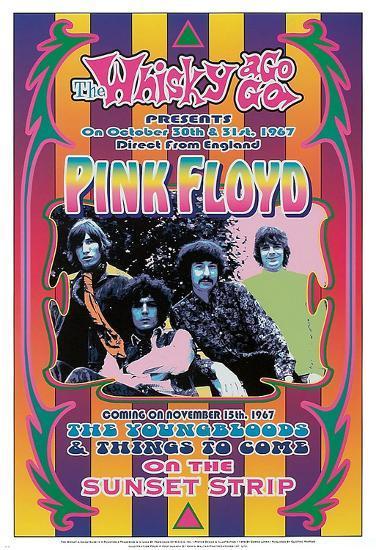 Pink Floyd, 1967-Dennis Loren-Art Print
