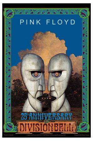 Pink Floyd 40Th Anniversary Framed /& Mounted Print