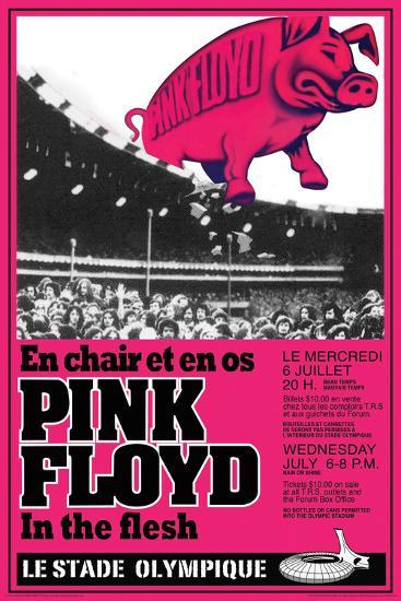 Pink Floyd Concert--Poster