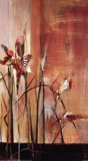 Pink Frost-Terri Burris-Art Print