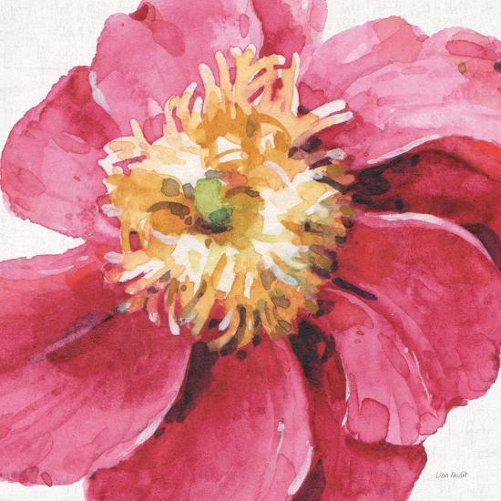 Pink Garden VI-Lisa Audit-Art Print