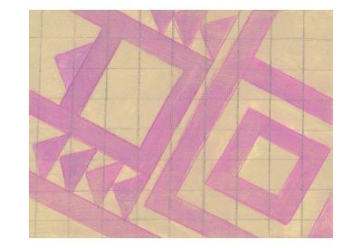 Pink Geo-Smith Haynes-Art Print