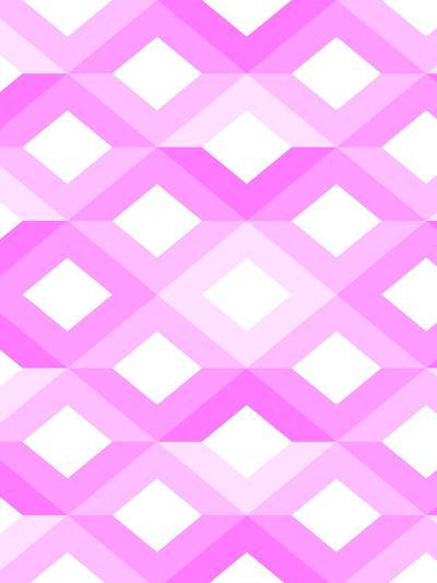 Pink Geometric Style-Wonderful Dream-Art Print