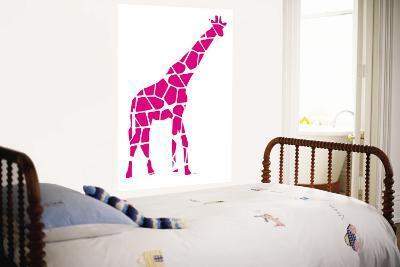 Pink Giraffe-Avalisa-Wall Mural