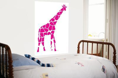 Pink Giraffe-Avalisa-Giant Art Print