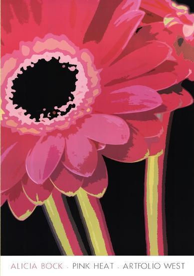 Pink Heat-Alicia Bock-Art Print