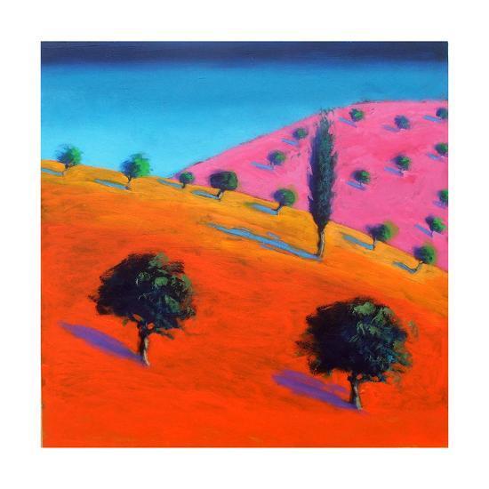 Pink Hill-Paul Powis-Giclee Print
