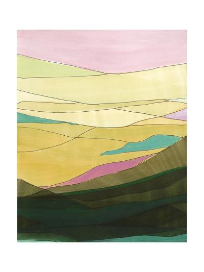 Pink Hills I-Jodi Fuchs-Art Print