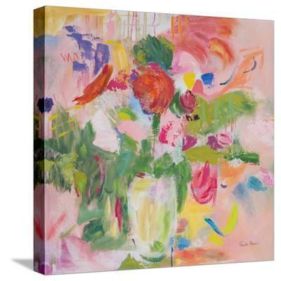 Pink Impressionism-Farida Zaman-Stretched Canvas Print