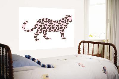 Pink Jaguar-Avalisa-Wall Mural