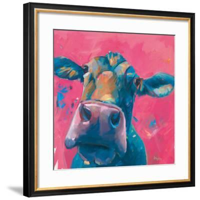 Pink Lady-Pete Hawkins-Framed Art Print