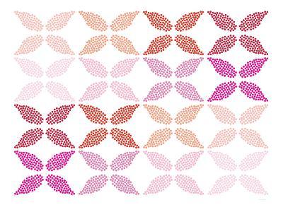 Pink Leaves-Avalisa-Art Print