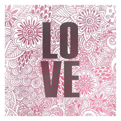 Pink Love-Kimberly Allen-Art Print
