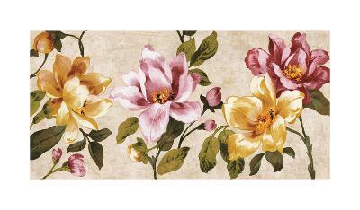 Pink Meets Yellow-Pamela Davis-Giclee Print