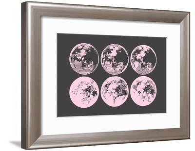 Pink Moons--Framed Art Print